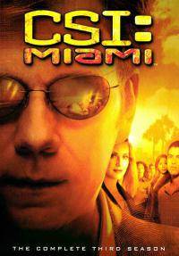 сериал Место преступления: Майами / CSI: Miami 3 сезон онлайн
